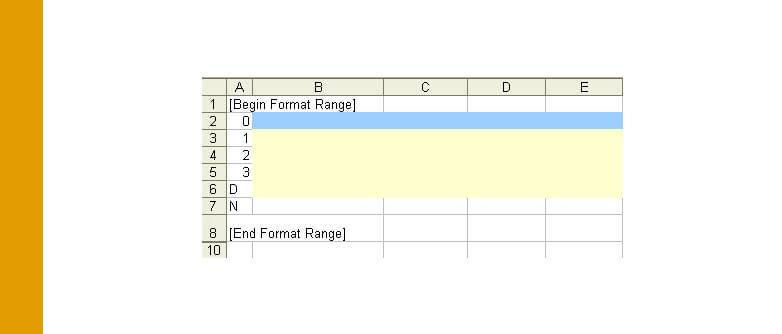 TM1: Active Form Alternative Row Colours