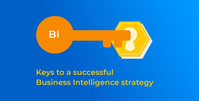 Keys to a successful business intelligence strategy: Key in lock