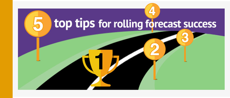 5 Top Tips for Rolling Forecast Success