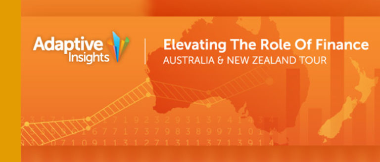 Adaptive Insights Australia/New Zealand Tour