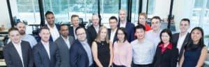 QMetrix team photo in the office