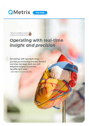 Case Study: Operating with real-time insight and precision | QMetrix