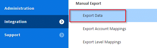 How to export data from Adaptive Insights with Integration