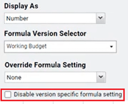 How do disable version