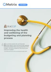 Improving the health and wellbeing of the budgeting and planning process | QMetrix